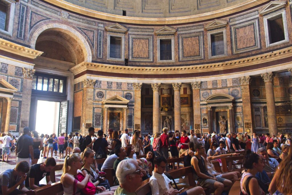 Rome travel guide pantheon