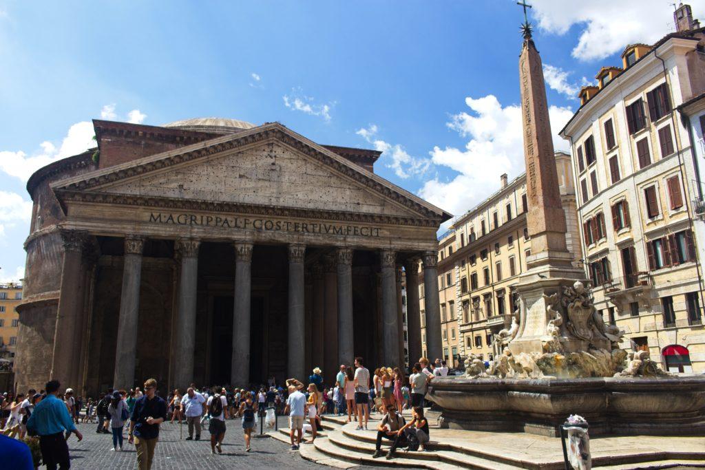 rome travel pantheon