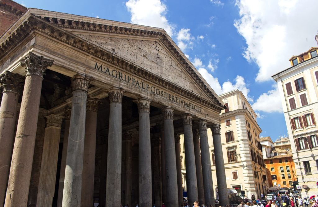 Rome travel pantheon